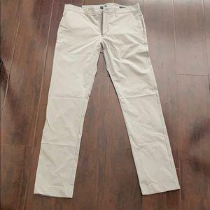 JCREW SLIM TECH PANTS 31x32